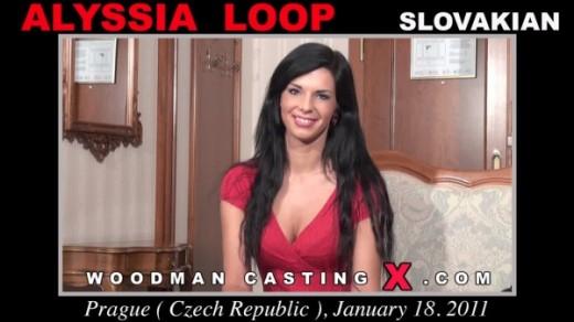 Alyssia Loop casting video from WOODMANCASTINGX by Pierre Woodman