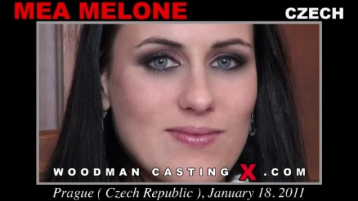Mea Melone - `Mea Melone casting` - by Pierre Woodman for WOODMANCASTINGX