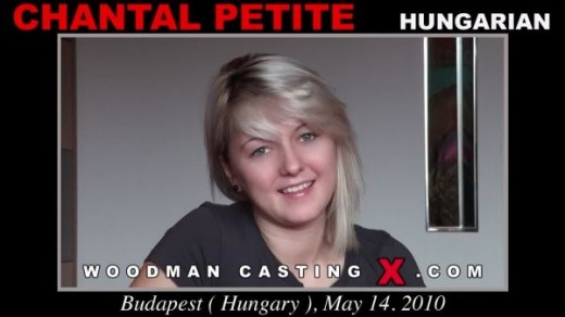 Chantal Petite - `Chantal Petite casting` - by Pierre Woodman for WOODMANCASTINGX