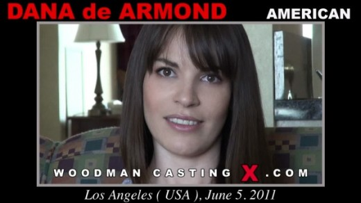 Dana De Armond - `Dana De Armond casting` - by Pierre Woodman for WOODMANCASTINGX