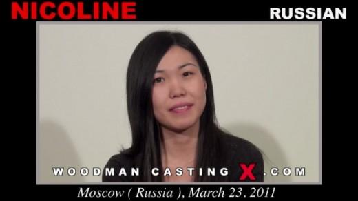Nicoline - `Nicoline casting` - by Pierre Woodman for WOODMANCASTINGX