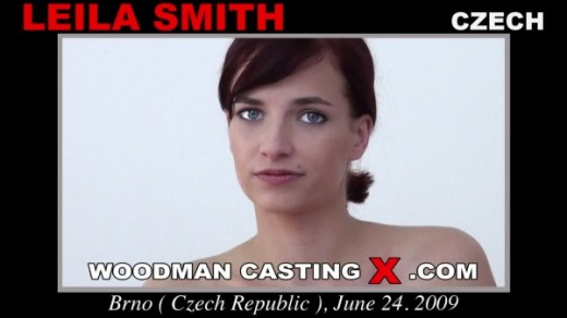 Leila Smith - `Leila Smith casting` - by Pierre Woodman for WOODMANCASTINGX