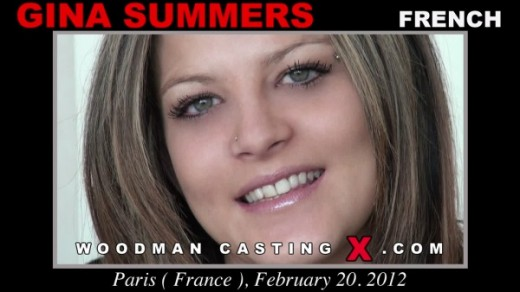 Gina Summers - `Gina Summers casting` - by Pierre Woodman for WOODMANCASTINGX