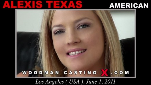 Alexis Texas - `Alexis Texas casting` - by Pierre Woodman for WOODMANCASTINGX