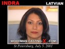 Indra casting video from WOODMANCASTINGX by Pierre Woodman