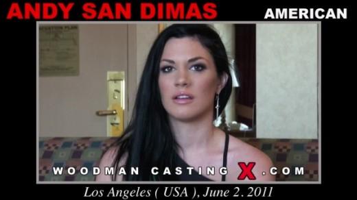 Andy San Dimas - `Andy San Dimas casting` - by Pierre Woodman for WOODMANCASTINGX