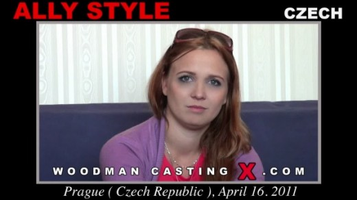 Ally Style - `Ally Style casting` - by Pierre Woodman for WOODMANCASTINGX