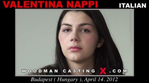 Valentina Nappi - `Valentina Nappi casting` - by Pierre Woodman for WOODMANCASTINGX