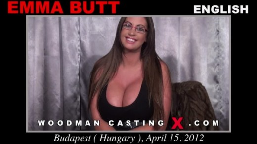 Emma Butt - `Emma Butt casting` - by Pierre Woodman for WOODMANCASTINGX