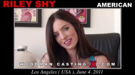 Riley Shy - `Riley Shy casting` - by Pierre Woodman for WOODMANCASTINGX