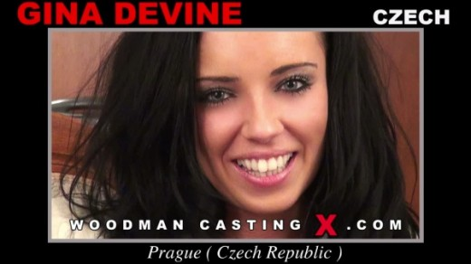 Gina Devine - `Gina Devine casting` - by Pierre Woodman for WOODMANCASTINGX