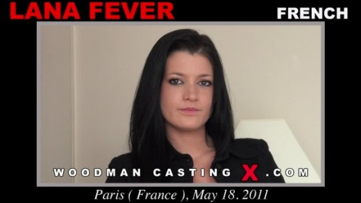 Lana Fever - `Lana Fever casting` - by Pierre Woodman for WOODMANCASTINGX