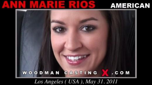 Ann Marie Rios - `Ann Marie Rios casting` - by Pierre Woodman for WOODMANCASTINGX