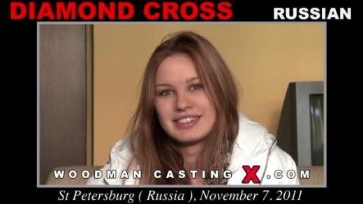 Diamond Cross - `Diamond Cross casting` - by Pierre Woodman for WOODMANCASTINGX