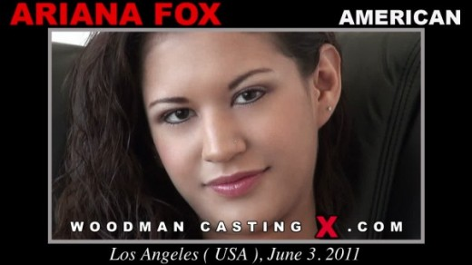 Ariana Fox - `Ariana Fox casting` - by Pierre Woodman for WOODMANCASTINGX