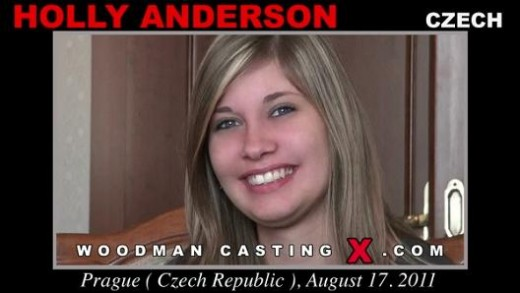 Holly Anderson - `Holly Anderson casting` - by Pierre Woodman for WOODMANCASTINGX