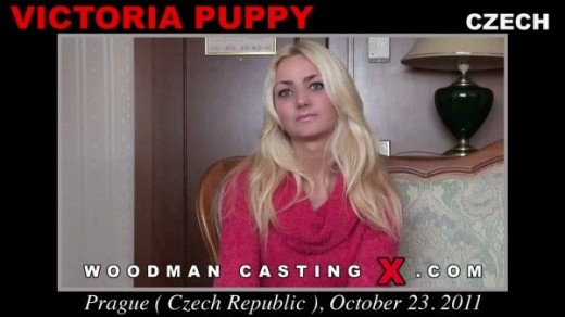 Victoria Puppy - `Victoria Puppy casting` - by Pierre Woodman for WOODMANCASTINGX