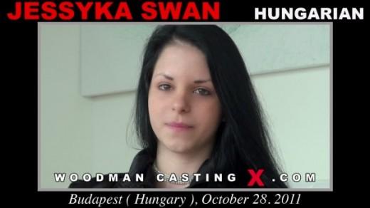 Jessyka Swan - `Jessyka Swan casting` - by Pierre Woodman for WOODMANCASTINGX