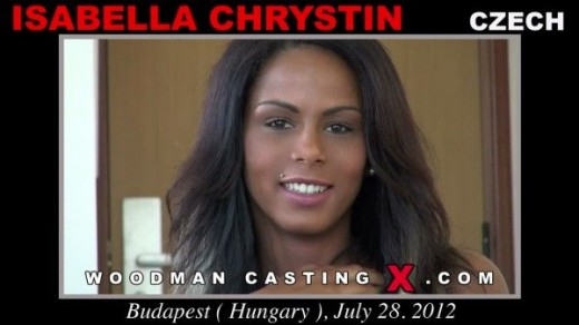 Isabella Chrystin - `Isabella Chrystin casting` - by Pierre Woodman for WOODMANCASTINGX