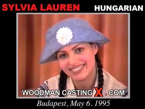 Szilvia Lauren - `Szilvia Lauren casting` - by Pierre Woodman for WOODMANCASTINGX