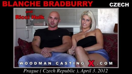 Blanche Bradburry - `Blanche Bradburry casting` - by Pierre Woodman for WOODMANCASTINGX