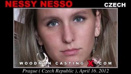 Nessy Nesso - `Nessy Nesso casting` - by Pierre Woodman for WOODMANCASTINGX