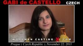 Gabi de Castello & Gaby De Castello  from WOODMANCASTINGX