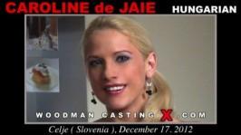 Caroline De Jaie  from WOODMANCASTINGX
