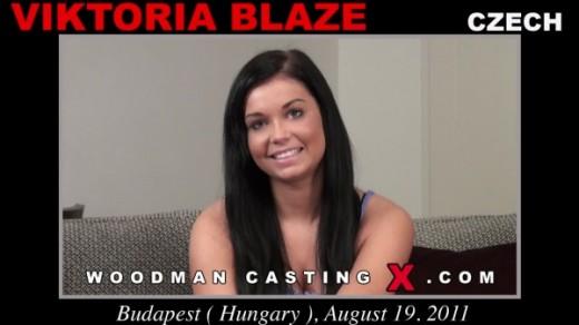 Victoria Blaze - `Victoria Blaze casting` - by Pierre Woodman for WOODMANCASTINGX