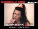 Gabriella Noir casting video from WOODMANCASTINGX by Pierre Woodman