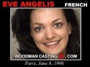 Elle Angelis casting video from WOODMANCASTINGX by Pierre Woodman