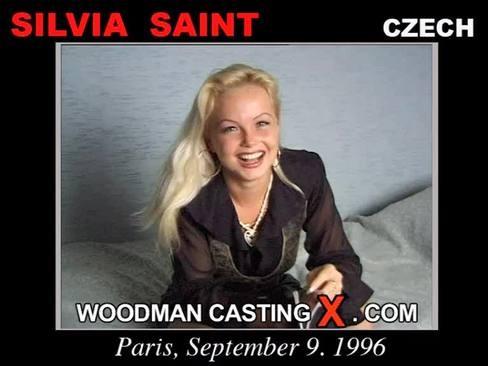 Silvia Saint - `Silvia Saint casting` - by Pierre Woodman for WOODMANCASTINGX
