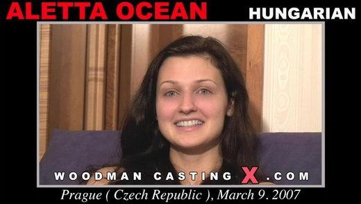 Aletta Ocean - `Aletta Ocean casting` - by Pierre Woodman for WOODMANCASTINGX