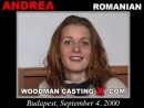 Andrea casting video from WOODMANCASTINGX by Pierre Woodman