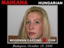 Maikana casting video from WOODMANCASTINGX by Pierre Woodman