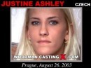 Justine Ashley Casting video from WOODMANCASTINGX by Pierre Woodman