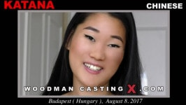 Katana  from WOODMANCASTINGX