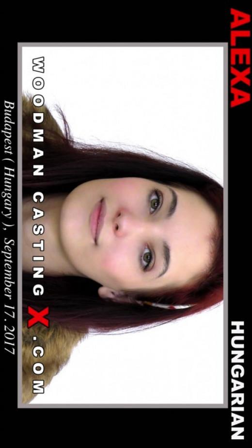 Alexa  Casting video from WOODMANCASTINGX by Pierre Woodman