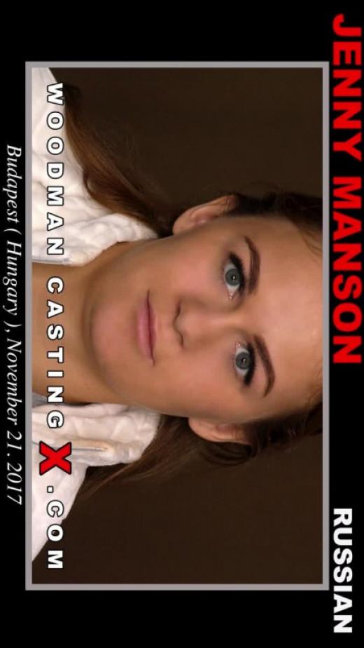 Jenny Manson Casting video from WOODMANCASTINGX by Pierre Woodman