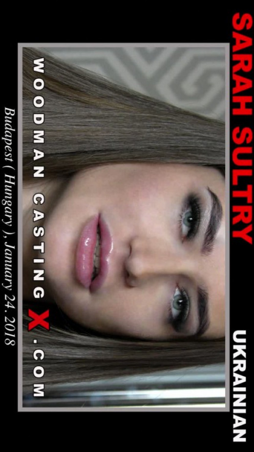Sarah Sultry - `Sarah Sultry Casting` - by Pierre Woodman for WOODMANCASTINGX
