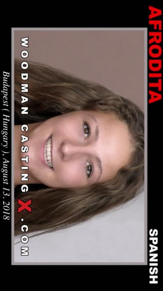 Afrodita Casting video from WOODMANCASTINGX by Pierre Woodman