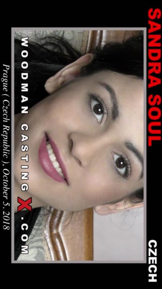 Sandra Soul Casting video from WOODMANCASTINGX by Pierre Woodman