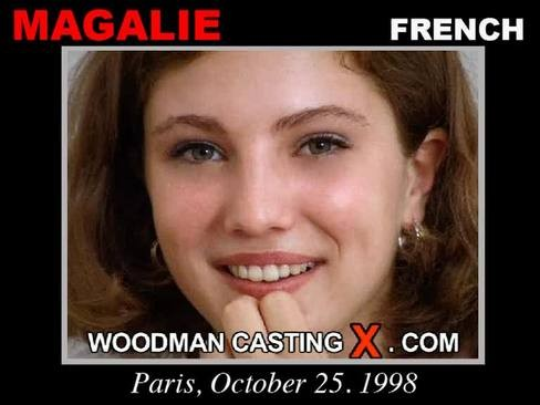 Magalie - `Magalie casting` - by Pierre Woodman for WOODMANCASTINGX
