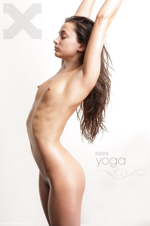Georgia - `Nude Yoga` - by Brigham Field for X-ART