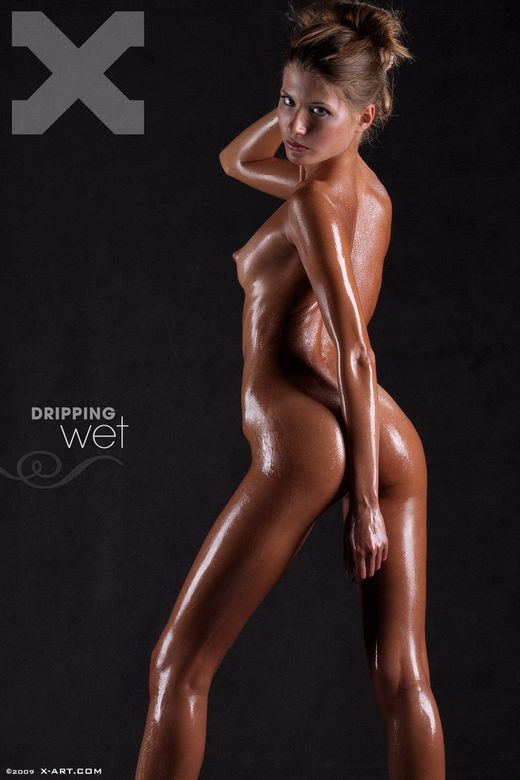 Sofia - `Dripping Wet` - by Brigham Field for X-ART
