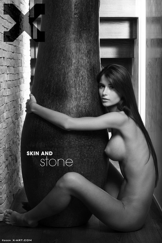 Katrina - `Skin and Stone` - by Brigham Field for X-ART