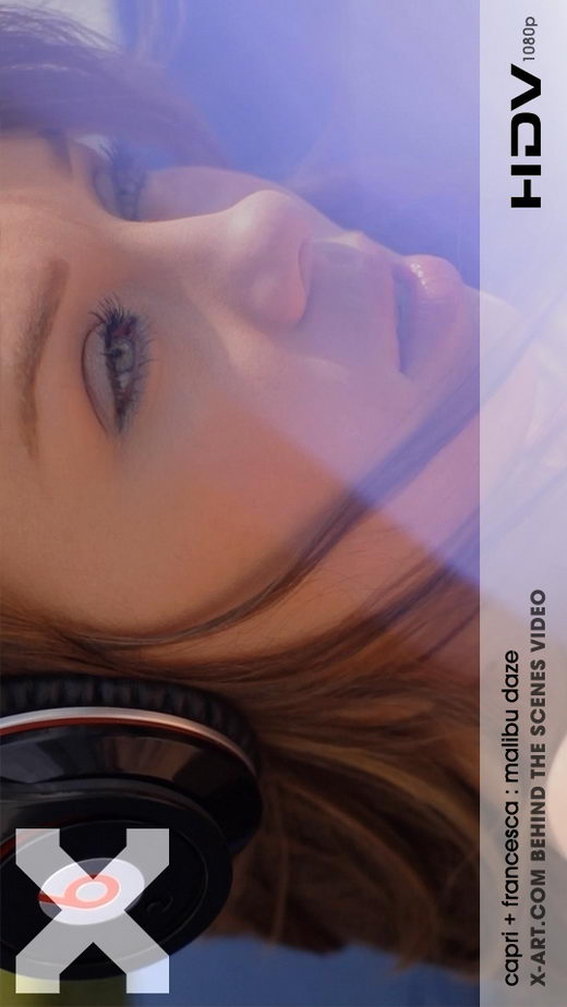 Francesca & Capri - `Malibu Daze` - by Brigham Field for X-ART