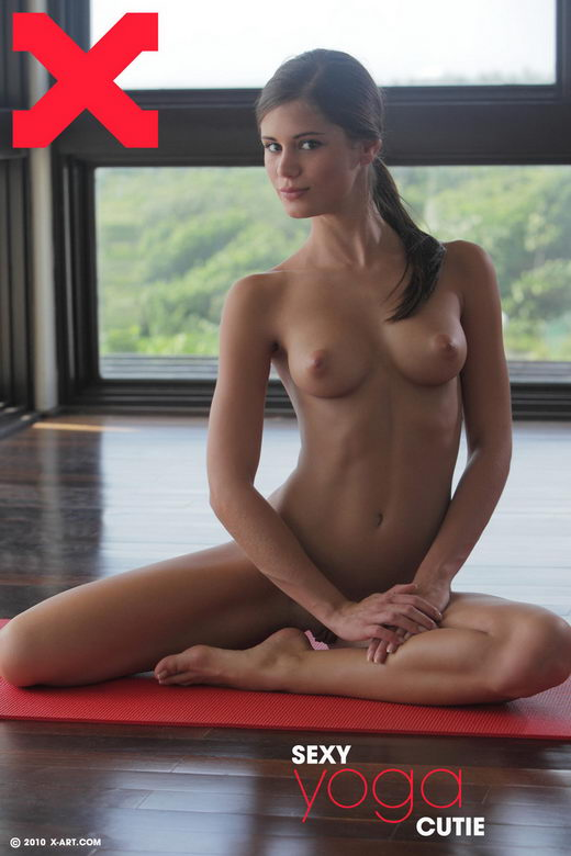 Caprice - `Sexy Yoga Cutie` - by Brigham Field for X-ART