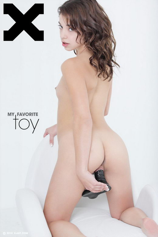 Gigi R - `My Favorite Toy` - by Brigham Field for X-ART