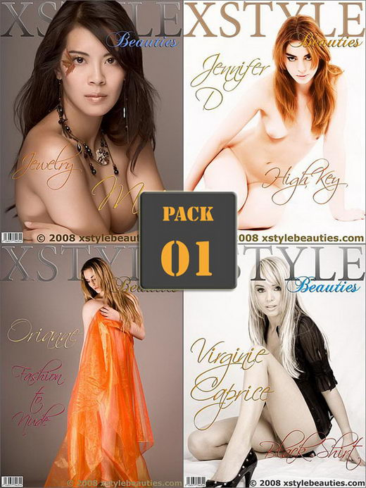 Mai & Jennifer D & Orianne & Virginie Caprice - `Pack 01 - Best of 4 sets` - for XSTYLEBEAUTIES